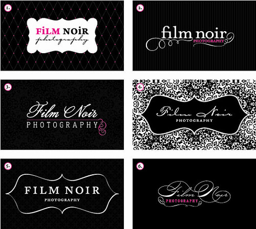 Noir graphy Logo & Business Card Design Concepts