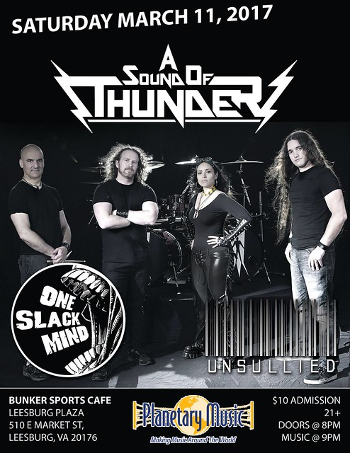A Sound Of Thunder at Bunker Sports Cafe