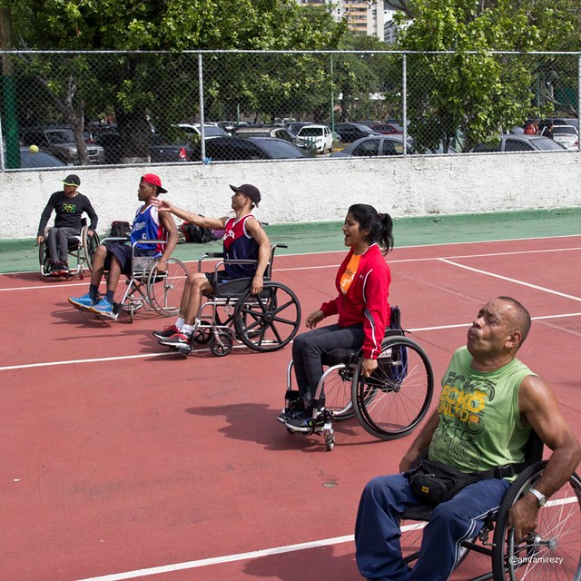Tenis Adaptado con Achilles Venezuela