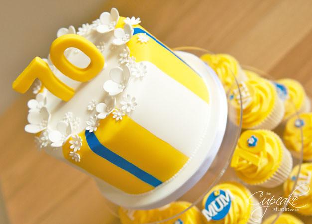 Leeds United Cake Decorations