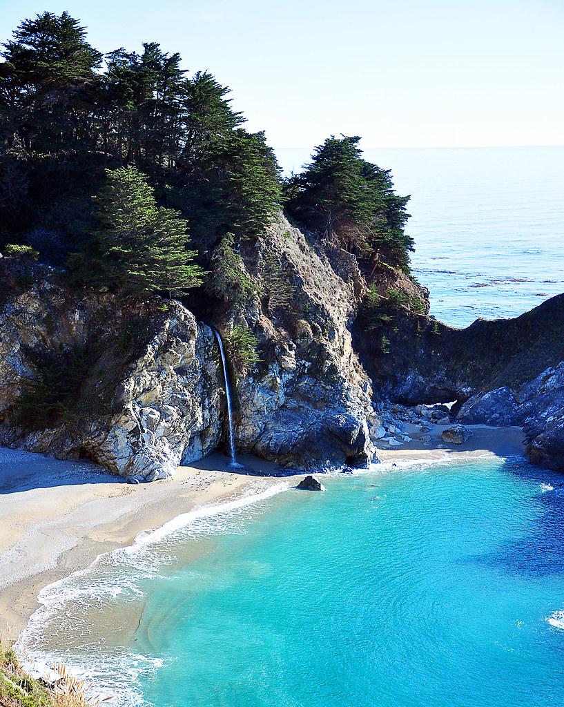 An Amazing Beach Near Big Sur, CA. Very