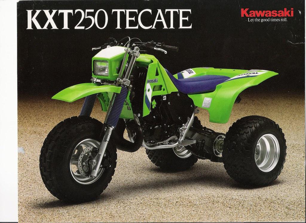 White Kawasaki Ad