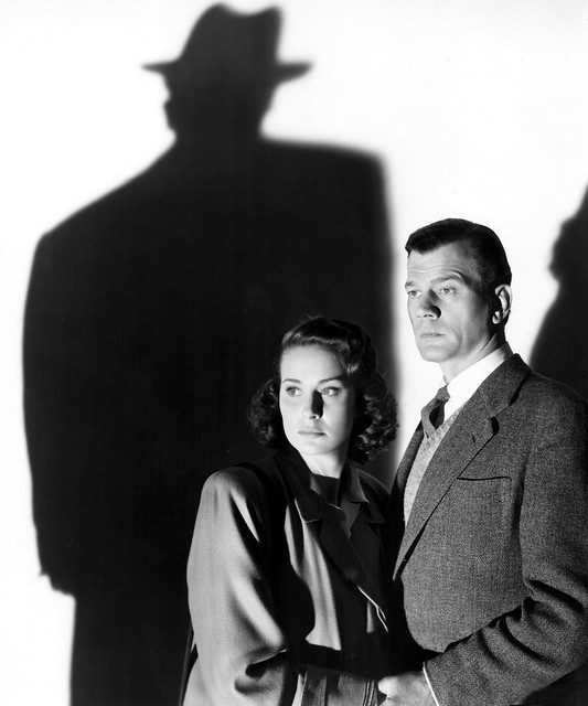 Joseph Cotten and Alida Valli in The Third Man