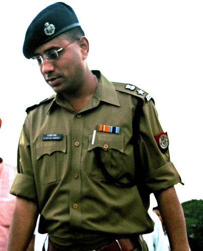 An Indian Police Service Officer | An officer of the elite ...