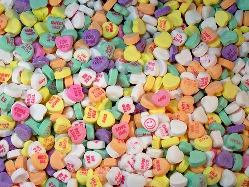 Conversation Hearts | Featured in the Flickr Blog on Feb ...