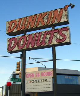 Old Dunkin Donuts Sign | by walknboston