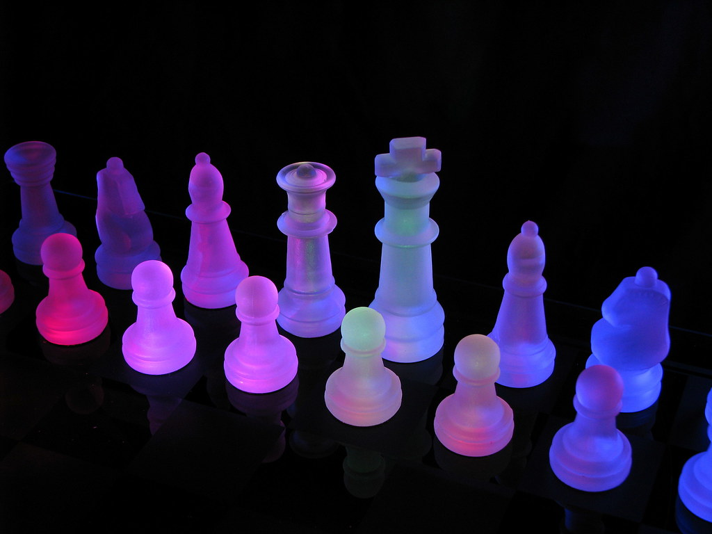 Cool Chess Pieces Rainbow Chess 2 I Really Liked My First Rainbow Chess