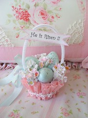 Sweet n shabby Easter Basket | by sweetnshabbyroses