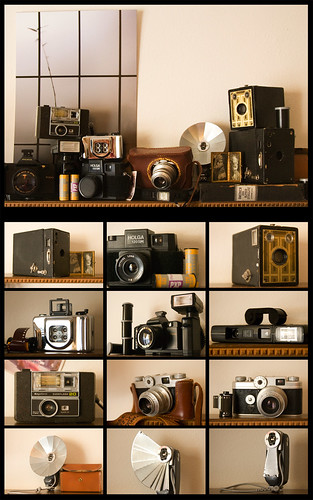 why i love my vintage cameras | by katiew