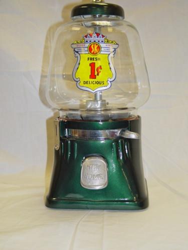 silver king gumball machine