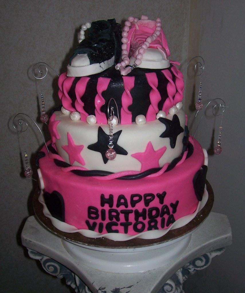 Victoria's 6th Birthday Cake