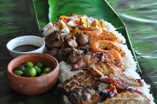 Boodle Fun Feast at Ka-on Restaurant The Tides Boracay