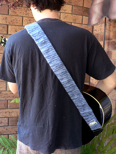 Knitted Guitar Strap | by :Salihan