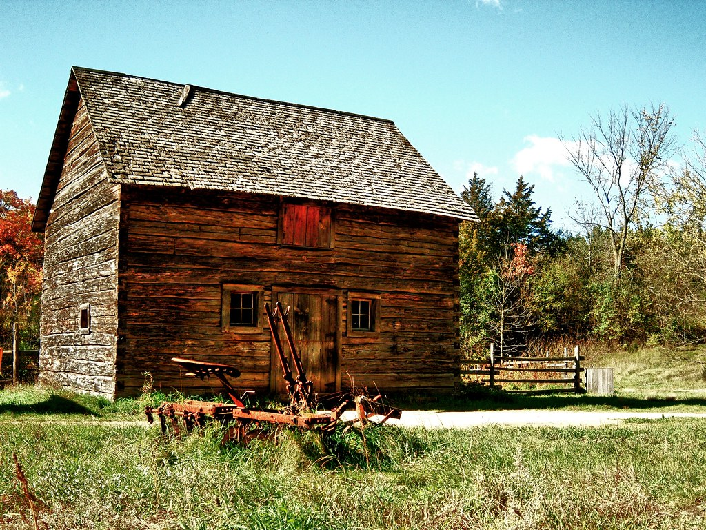 What Are The Years Of The Generations >> Old World Cabin #1 | The broad sweep of Wisconsin history em… | Flickr