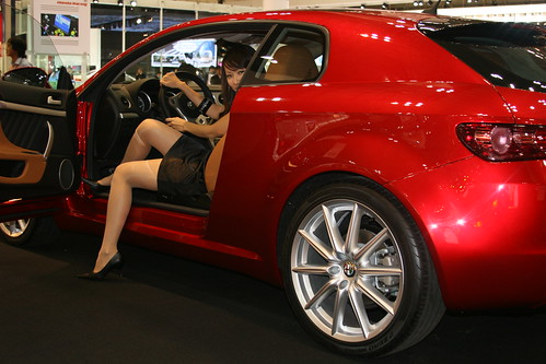 Alfa Romeo Girl It Was Cool Getting To Exercise My