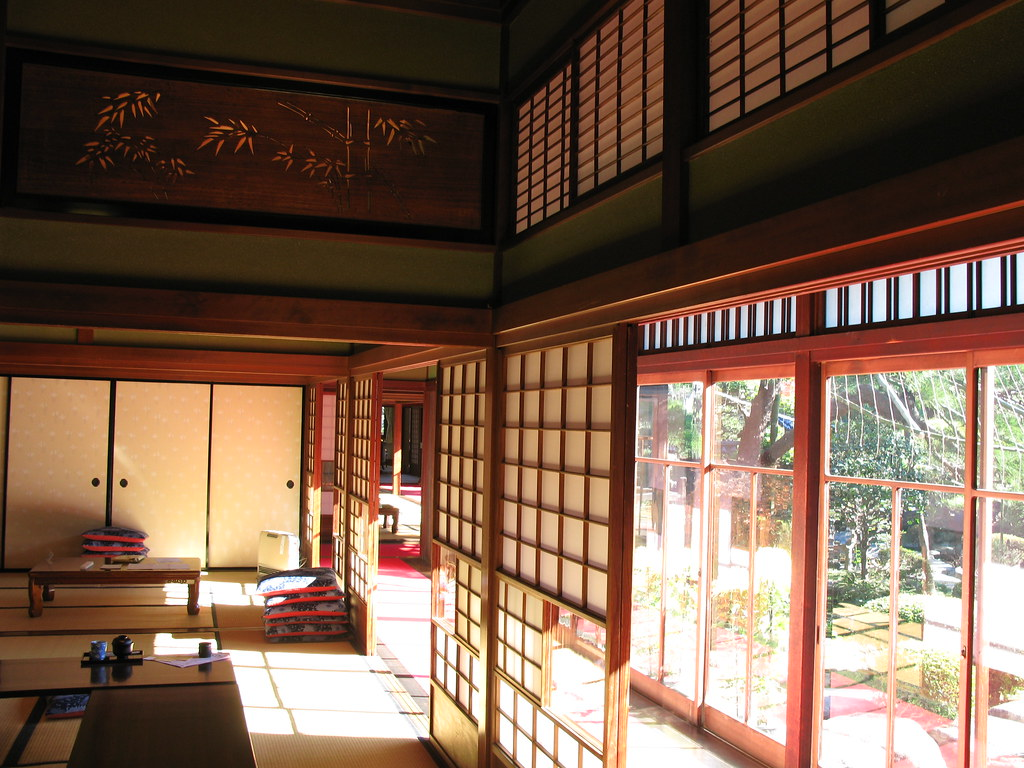 Japanese Old Style House Interior Design