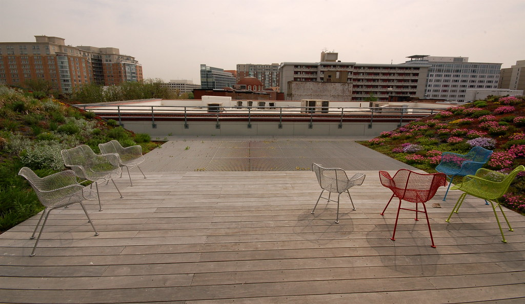 Deck and aluminum grating american society of landscape for American institute of landscape architects