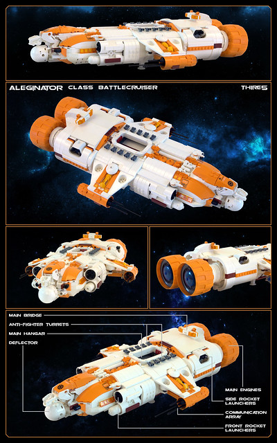 Aleginator Class Battlecruiser