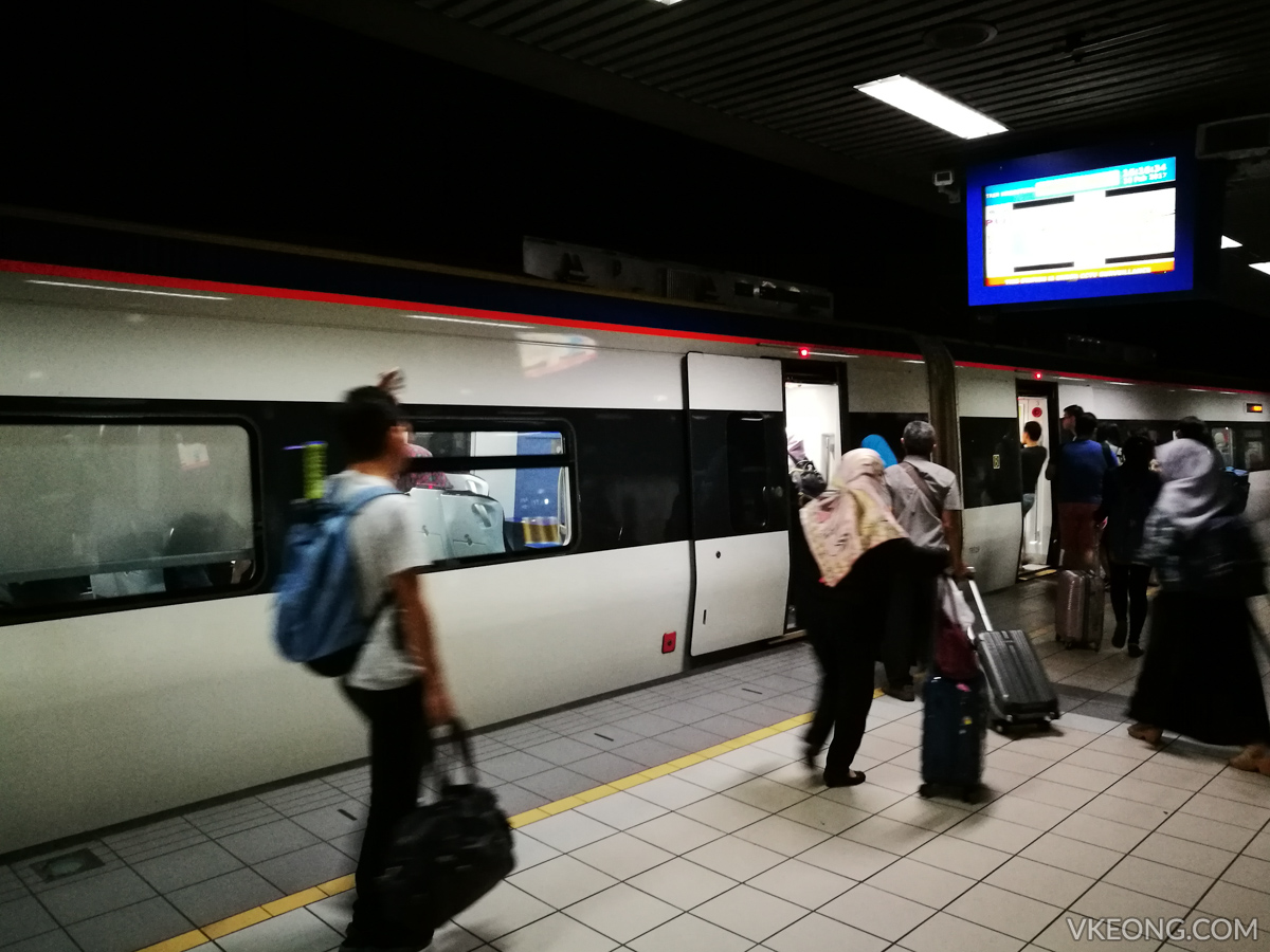 ETS Train Departing KL Sentral