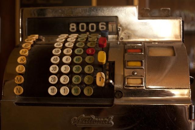 Caisse enregistreuse flickr photo sharing - Machine a orange pressee ...