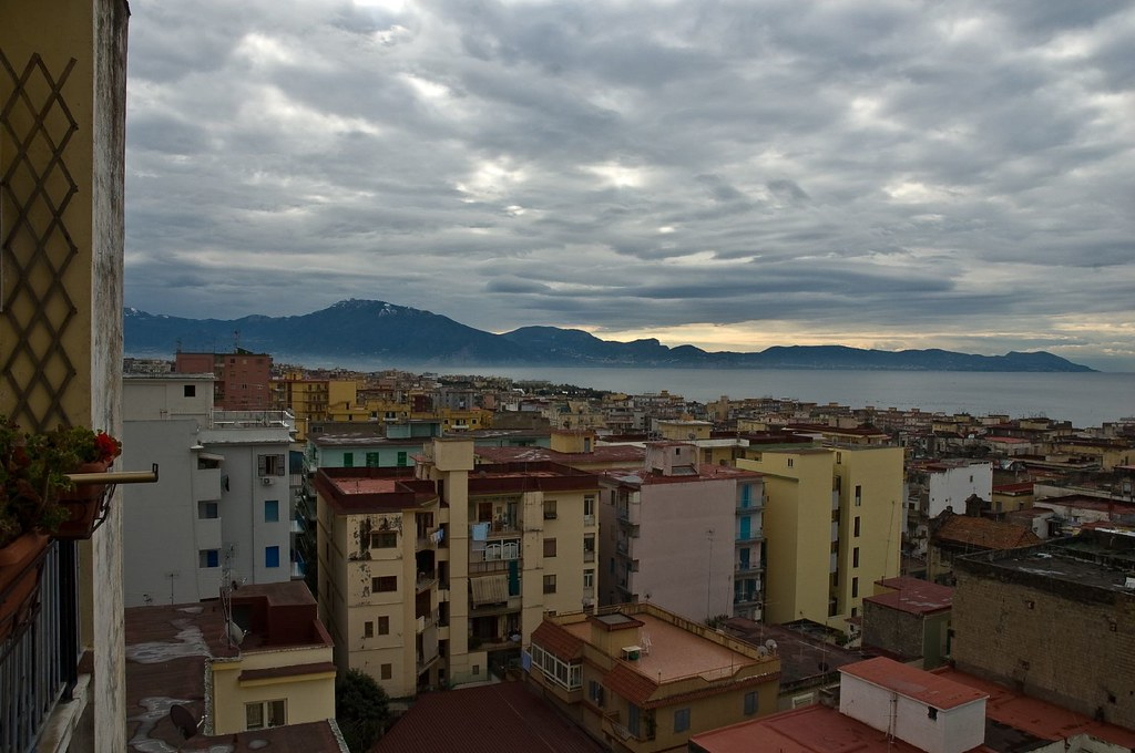 Torre Del Greco Italy  city pictures gallery : Torre del Greco, Napoli, Italy   Torre Annunziata view. Clou ...