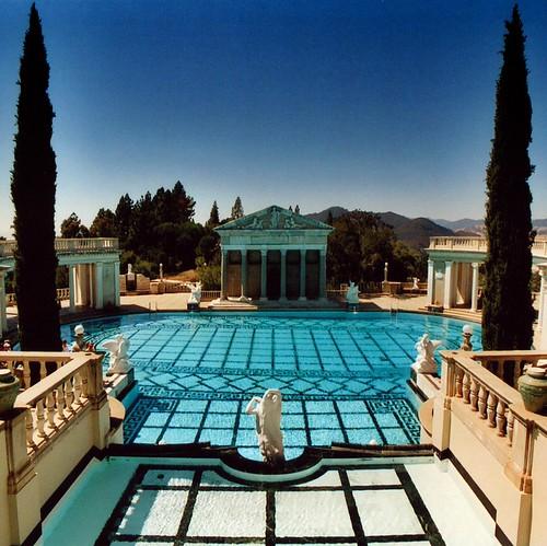 Usa california hearst castle swimming pool hearst - Hearst castle neptune pool swim auction ...