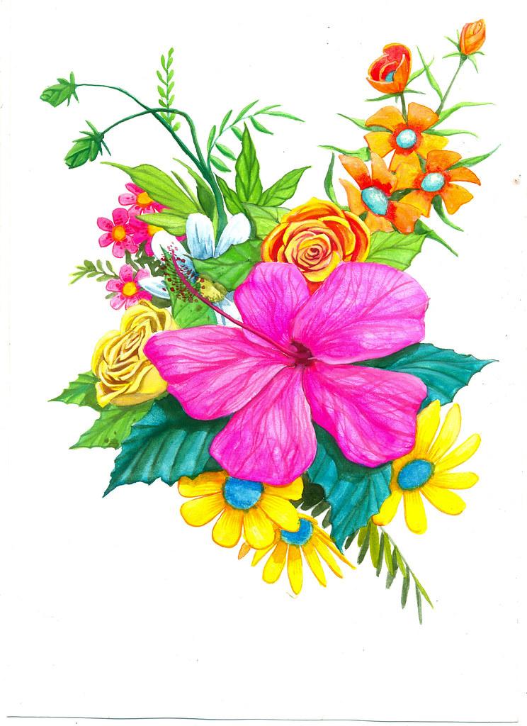 Flores Para Estampar Gravatas Shiko Flickr