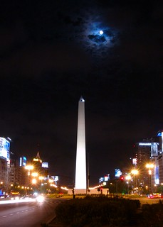 Full moon in Buenos Aires | by blmurch