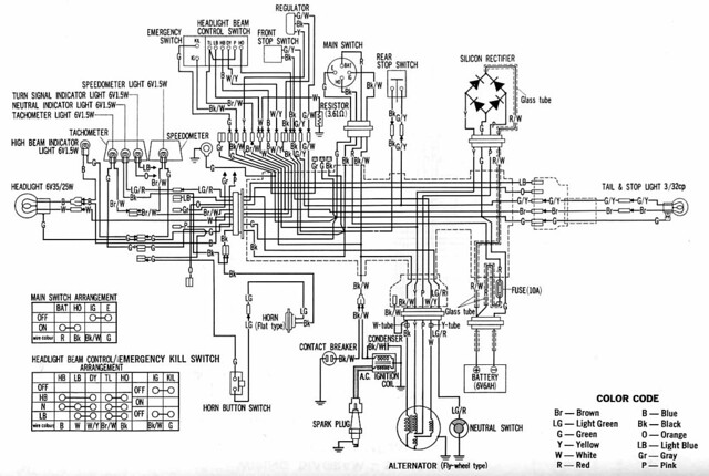 xl250 wiring diagram honda xl250 k3 fikatalano flickr rh flickr com  1979 honda xl250 wiring diagram