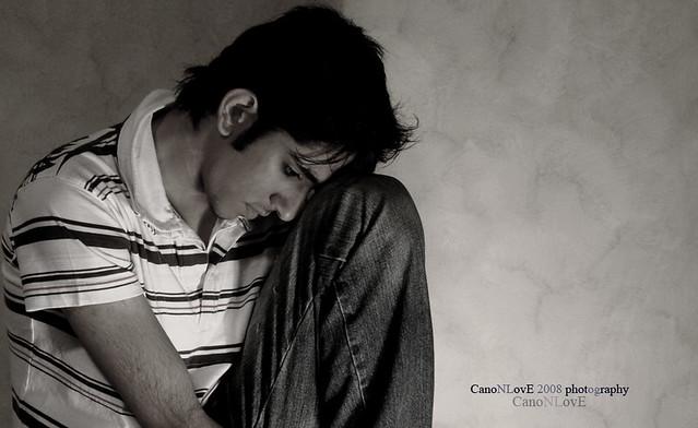 am sad boy taken by my siso0o golden len flickr