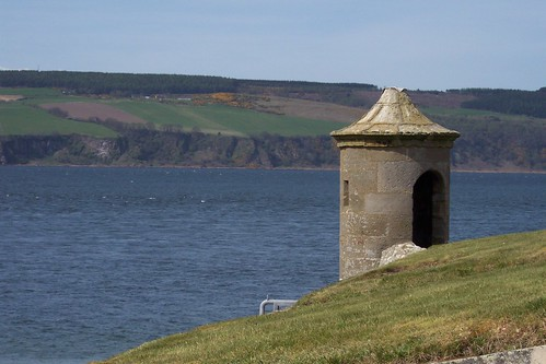 Sentry Box, Fort George, Inverness-shire (looking over Moray Firth) | by Bebopgirl1969