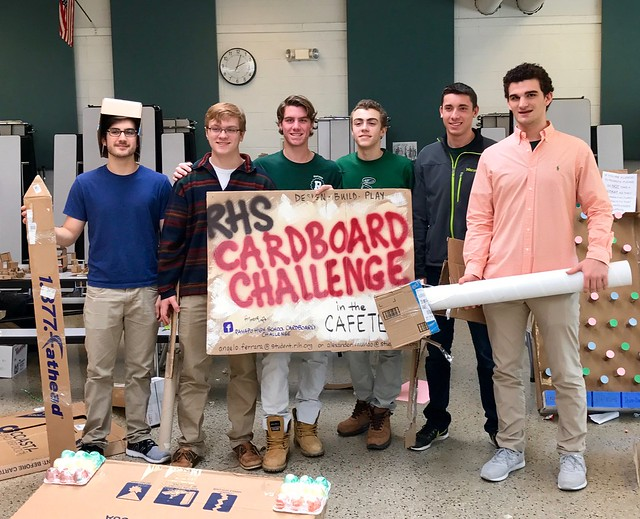 3rd Annual Cardboard Challenge