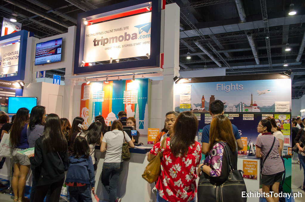 tripmoba.com Exhibit Booth