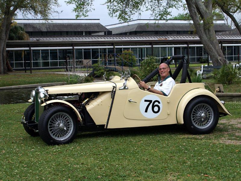 Mg Tc Race Car For Sale