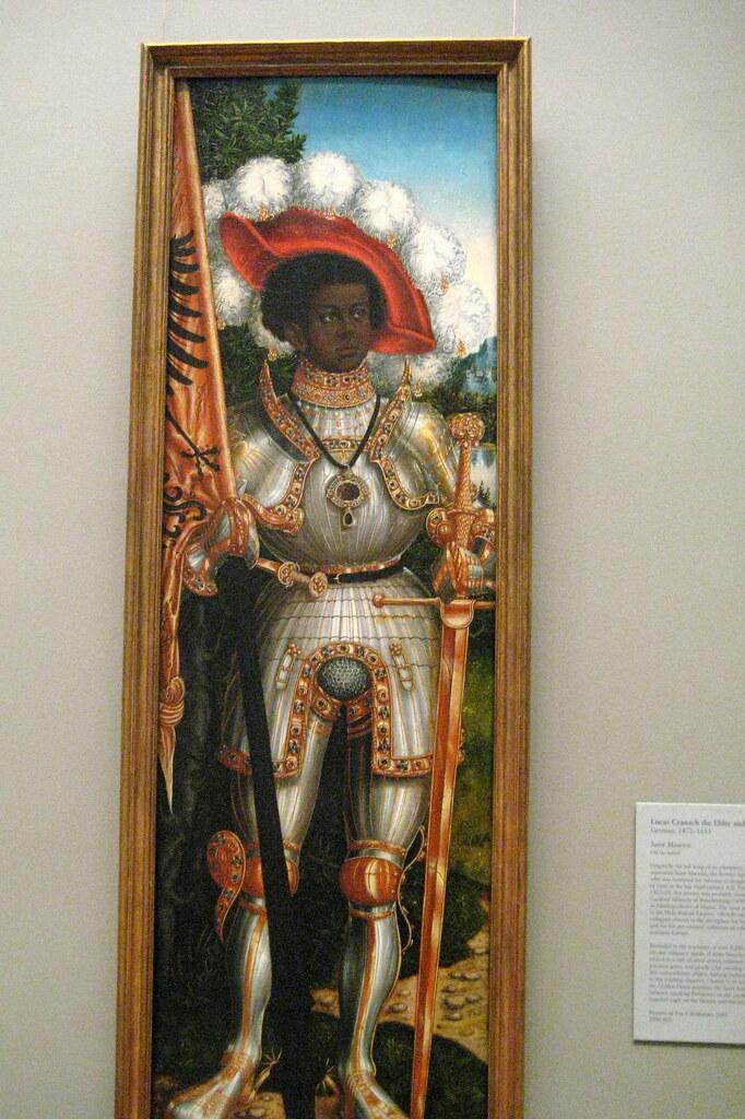 Nyc Metropolitan Museum Of Art Saint Maurice Saint