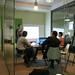 réunion de travail au Studio Vert