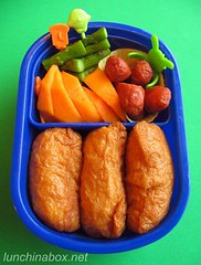 Inari sushi bento lunch for preschooler | by Biggie*