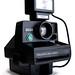 Polaroid 3000 (with Tourist flash; three-quarter view)