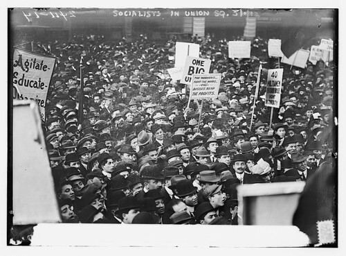 Socialists in Union Square, N.Y.C. [large crowd]  Photo, 1 May 1912 - Bain Coll.  (LOC) | by The Library of Congress