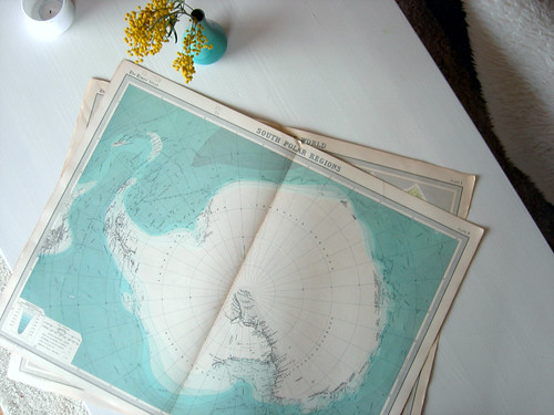 the south pole as it should be | by hanne::