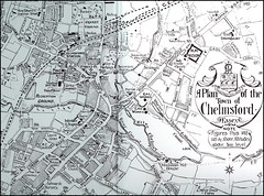 Chelmsford town centre map c1910 Scanned and around 100 ye Flickr