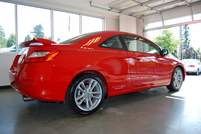 ... Rallye Red 2008 Honda Civic Si Coupe | By Andrew L. SPP