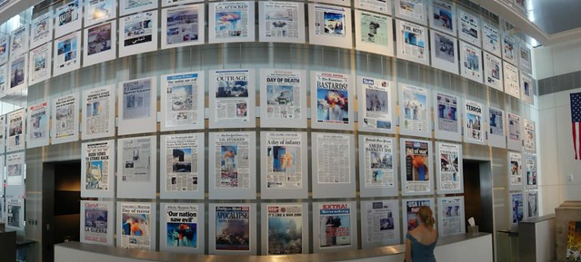 11 Front Pages at Newseum | Flickr - Photo Sharing!