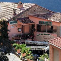 Le gîte d'étape Chez Félix à Ota en été - photo Andrew Dennes