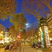 Boulevard de Rochechouart  with a full Moon
