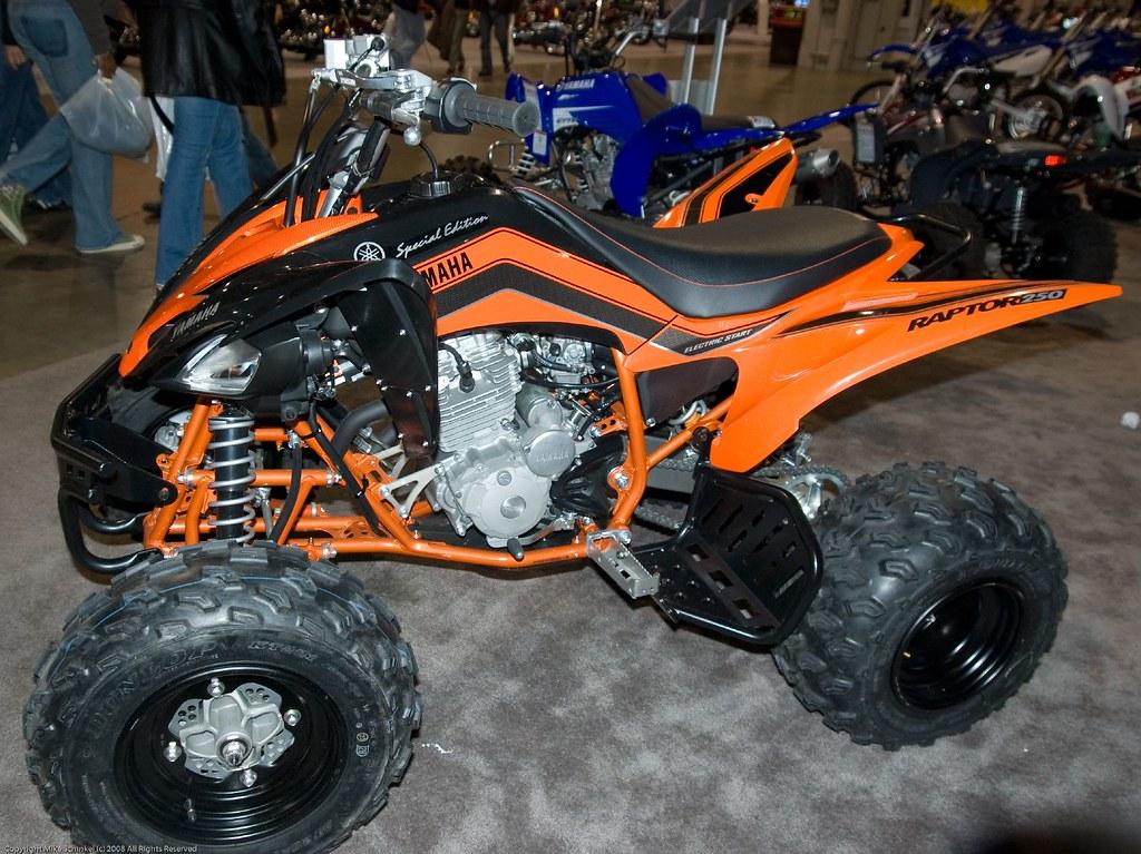 2008 Yamaha Raptor 250 Special Edition ATV | Mike Schinkel | Flickr
