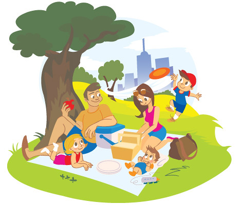 My picnic illustration chriscute flickr