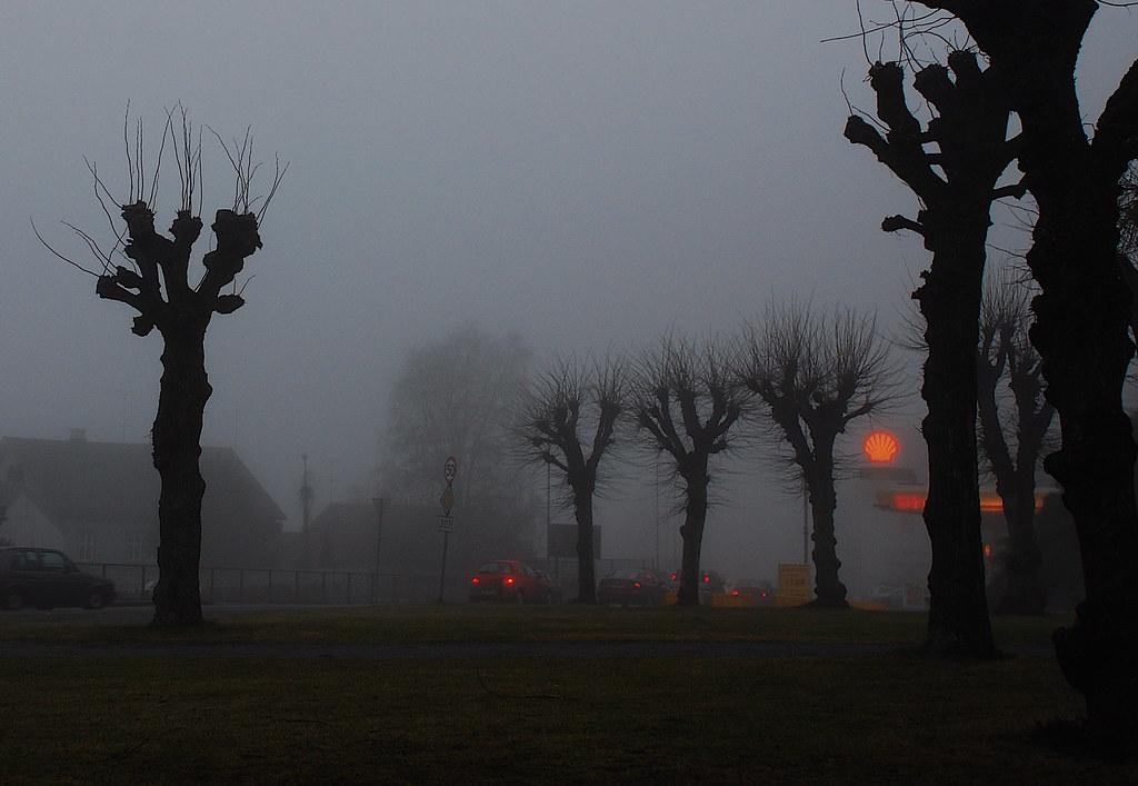 Larvik, fog | by AstridWestvang