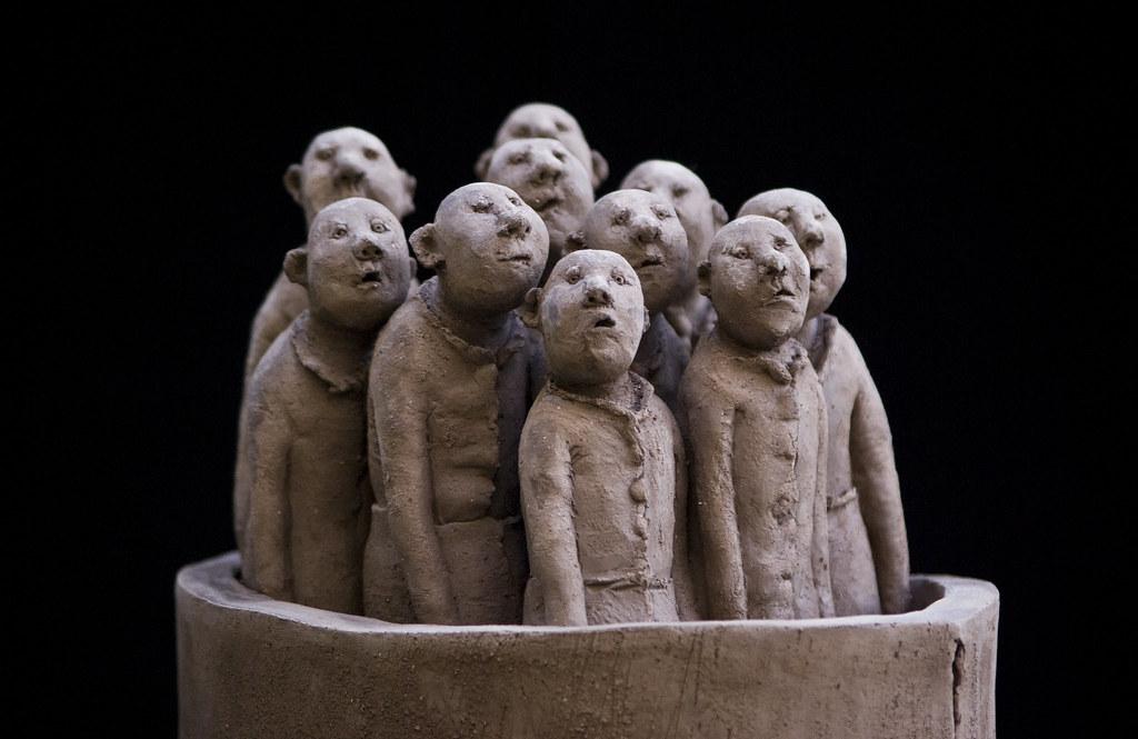 Sculpture De Sophie Favre Martin Le Roy Flickr