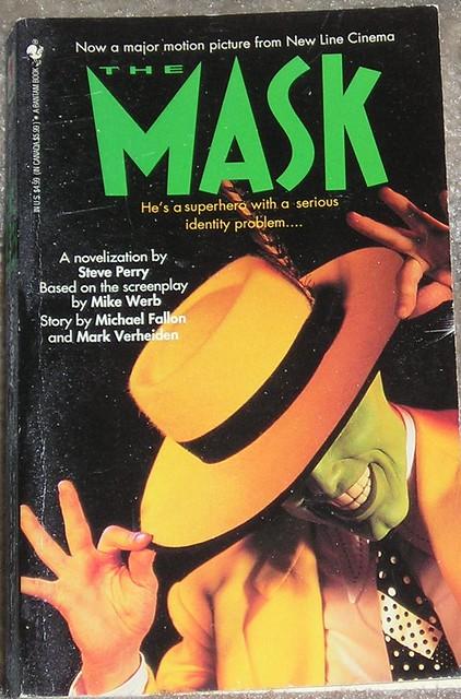 the mask 1994 movie novel novelization of the 1994 jim